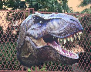 dinosauri orto Botanico